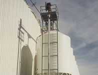 Commercial Milling operation producing livestock feed