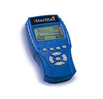 The StorMax hand held monitor makes collecting data easy